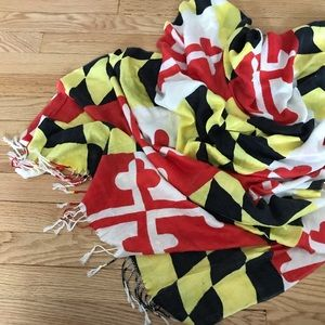 Accessories - Maryland flag scarf